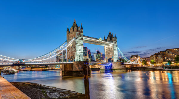 Foto del Tower Bridge di Londra