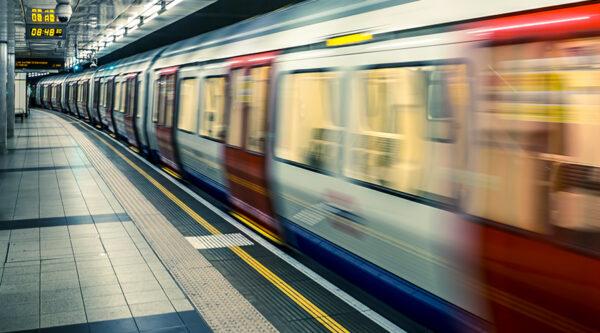 Foto della metropolitana di Londra