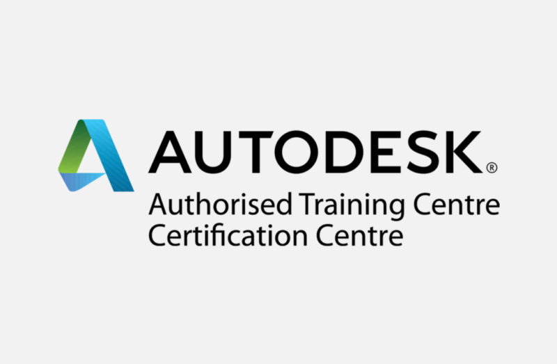 Logo AUTODESK Authorised Training Centre Certification Centre