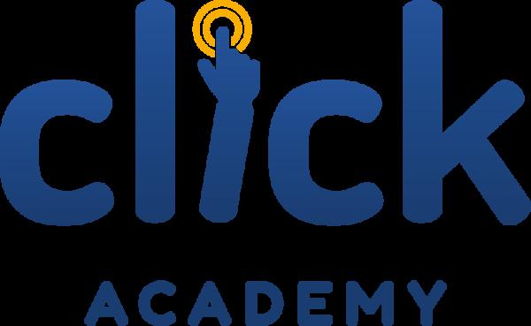Logo Click Academy colori png